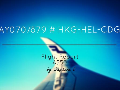 Finnair # Flight Report • AY879 | HEL-CDG | A321 • Economy