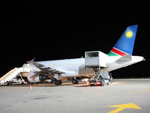 Air Namibia # Flight Review • SW728 | JNB-WDH | A319 • Economy