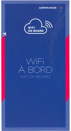 Wifi on Board B787