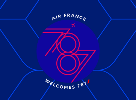 Air France # Flight Report • AF508 | CAI-CDG | 787 • Inaugural Flight of  787