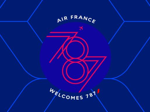 Air France # Flight Report • AF508 | CAI-CDG | 787 • Inaugural Flight of  787