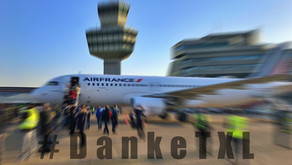 Air France # bids adieu to Tegel as last airline with Farewell flight of 8 Nov 2020.