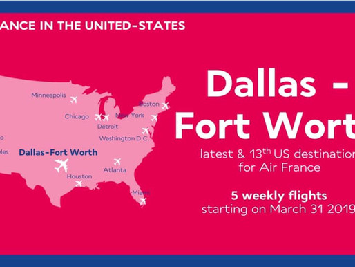 Air France come back to Dallas DFW Texas