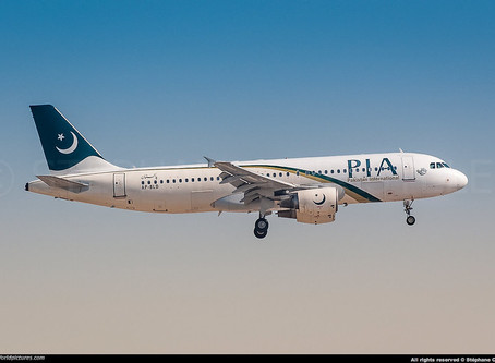PIA # A320 crashed into a residential area of Karachi