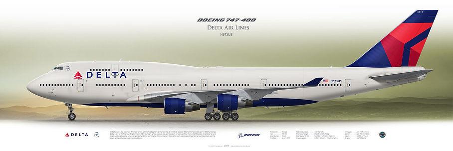 Farewell DELTA B747