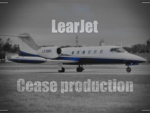 Bombardier # Cease Learjet production