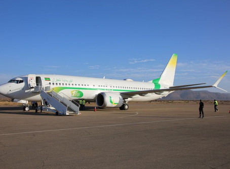 Mauritania Airlines # Flight Review • L6 005 [ PARIS → ATAR ] B737Max • Economy Class