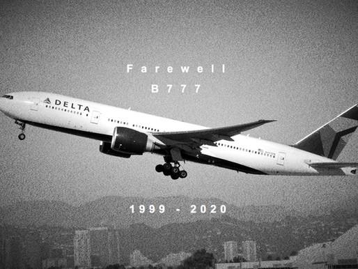 Delta # Retires Boeing 777s