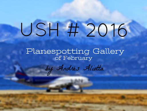 Discover the southernmost planespotting at Ushuaia # Malvinas Int'l Airport - Argentina