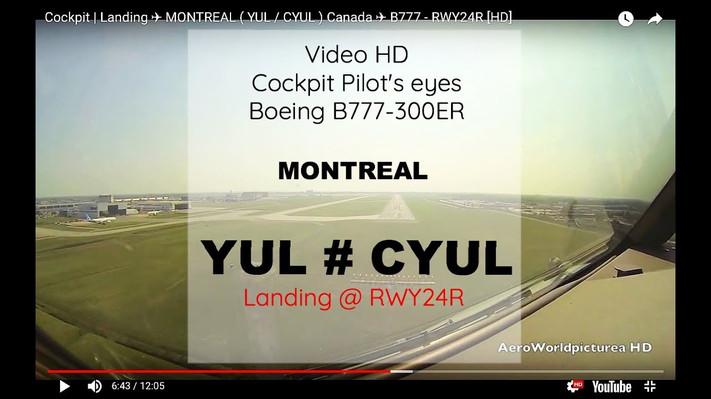 Montréal @ Landing