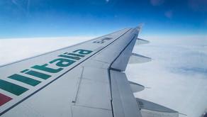 Alitalia # Flight Review • AZ351 | ORY-LIN | A319 • Economy