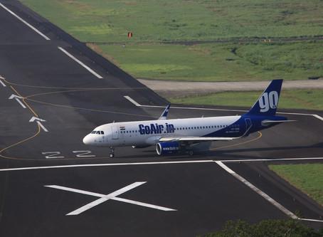 Go Air # Flight Review • G8 803 [ Port Blair → Bangalore ] A320 • Economy Class