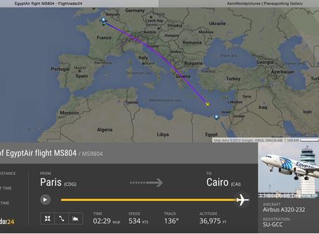Breaking News : Crash MS 804 Flight CDG-CAI