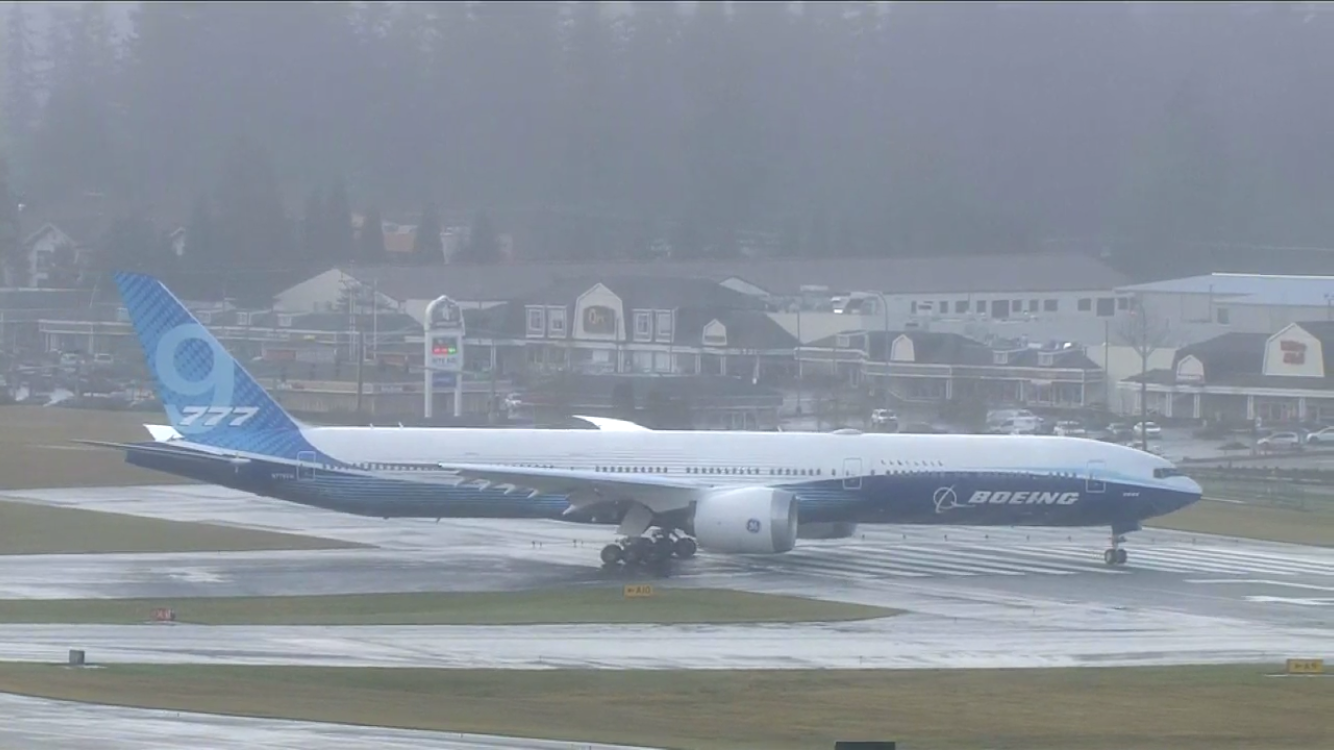 777X First Flight