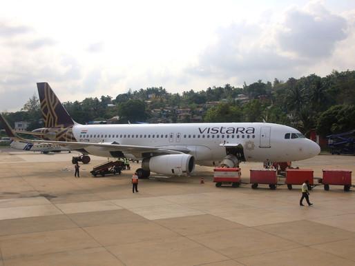 VISTARA # Flight Review • UK 833 [ Chennai → Port Blair ] A320 • Economy Class