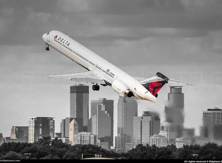 Delta # Retires MD-88 & MD-90 Fleet