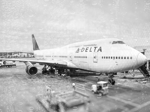 Delta # Retired America's Last Boeing 747s