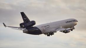 "Lufthansa # MD11F ""last Landing"""