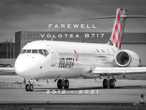 Volotea # B717 • Farewell