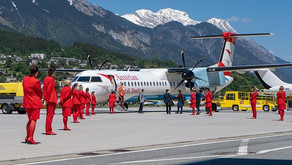 Austrian Airlines # Says goodbye to the last Dash aircraft