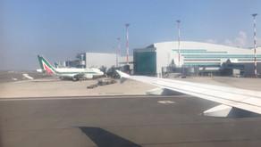 Alitalia # Volo d'addio • AZ333 | CDG-FCO | A319 • Economy