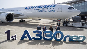 Corsair # takes delivery of its first A330neo