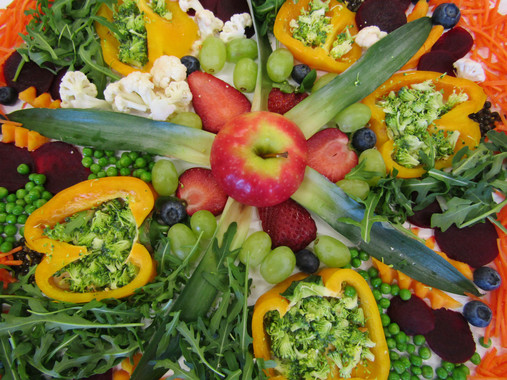 Photography art fruit and vegetable (Food Styling)