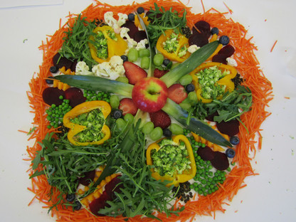 Photography art fruit and Vegtables project (Pizza style)