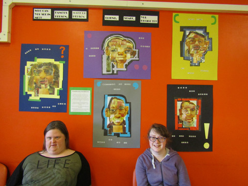 Marie and Nikki's your face or mine photography project