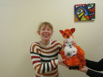 Carol and her creation of the fantastic fox