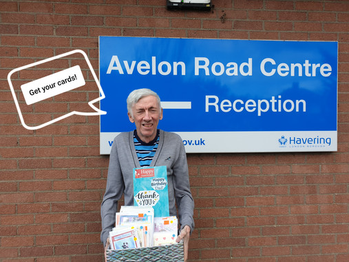 Get your cards! Avaliable at the Avelon Road Centre!