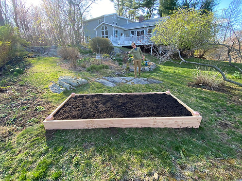 "2"" by 12"", 4'x10' Douglas Fir Raised Bed"