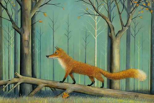 'Mr Fox' Limited Edition Giclée Print