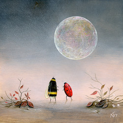 Follow the Moon by Neil Thompson