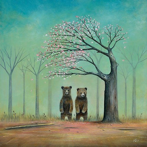 'Under the Blossom Tree' Giclée Print