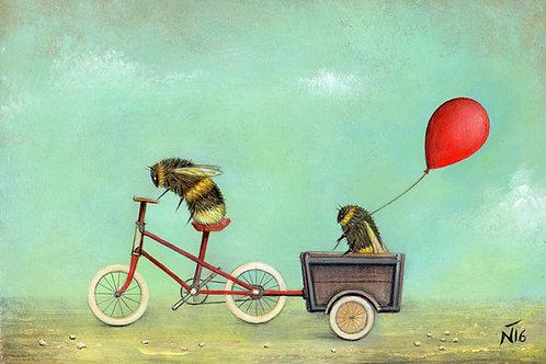 'The Passenger' Giclée Print