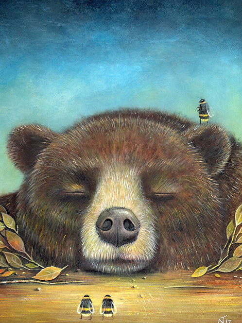 'Sleeping Giant' Giclée Print.