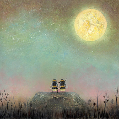 'Moon Watchers' Giclée Print