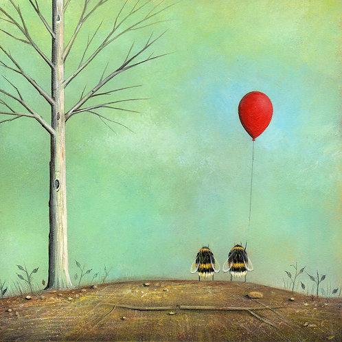 'Letting Go' Giclée Print