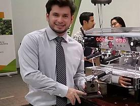 Carlos Guerra Campeon Nacional de Baristas en Honduras