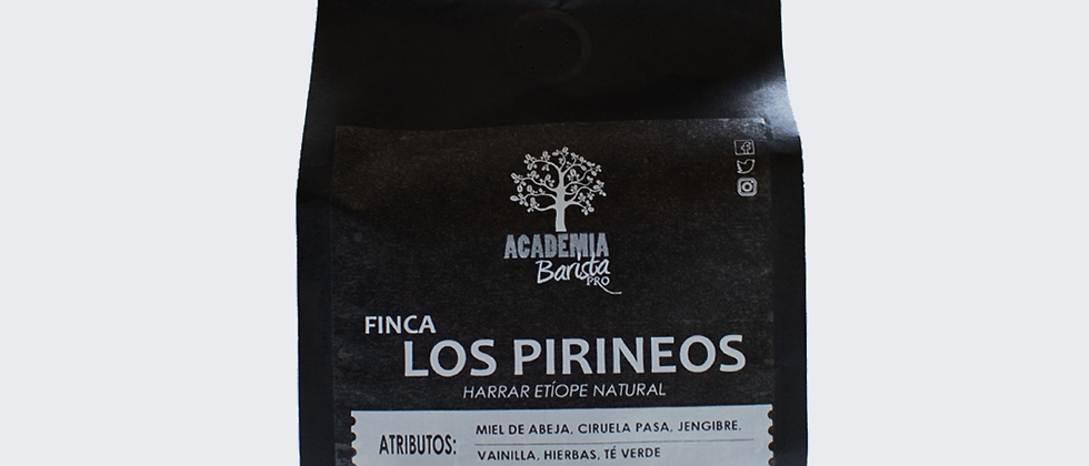 Harrar Natural Finca Los Pirineos - 12oz