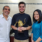 Primer Lugar Miguel Candel Competencia Oficial de Métodos de Café en El Salvador 2019