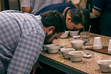 Catacion de Cafe en El Salvador