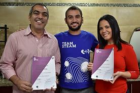 Jonathan & Johanna Rodriguez Son Certificados por SCA - Barista Skills El Salvador