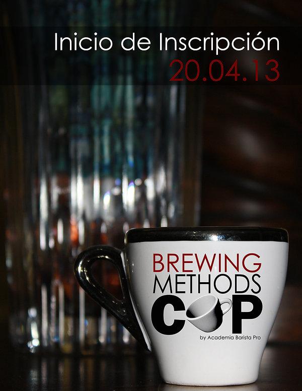 First Brewing Competitio in El Salvador, Brewing Methods cup