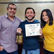 Mario Salinas  Subcampeon Nacional de Baristas en El Salvadr 2018