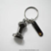 Keychain, ek43, mahlkoning, llavero de cafe, tamper