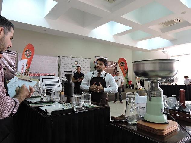 Campeón Nacional de Baristas en Honduras - Carlos Rene Guerra - 2020