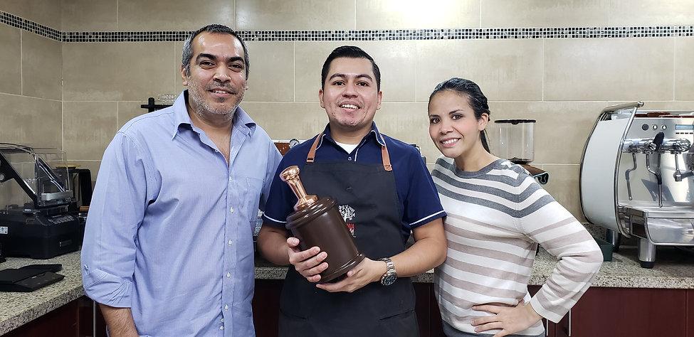 Entrenador Marvin Palacios - Competencia Nacional de Baristas El Salvador 2020 - Campeon de Baristas en El Salvador