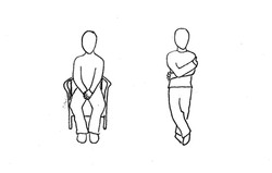 Constricted Power Poses